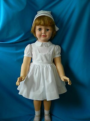 Madame Alexander Vintage Joanie-Patti Playpal Friend-Tagged Nurse Outfit