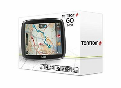 TomTom GO 6000 6-inch Sat Nav with European Maps and Lifetime Map