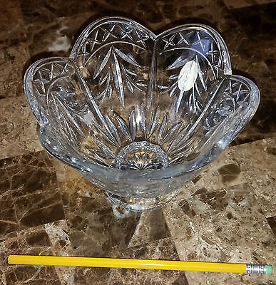 "Royal Doulton Crystal 6"" candy dish bowl"