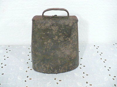 """Antique Cow Bell with a wonderful ring 5-1/2"""" tall"""