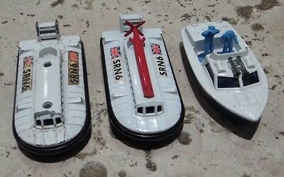 Matchbox SuperFast 2 x Hovercraft & Police Launch