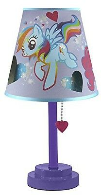 Hasbro My Little Pony Table Lamp with Die Cut Shade