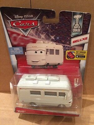 """DISNEY CARS DIECAST - """"Bud"""" - Deluxe - New 2016 Release - Combined Postage"""