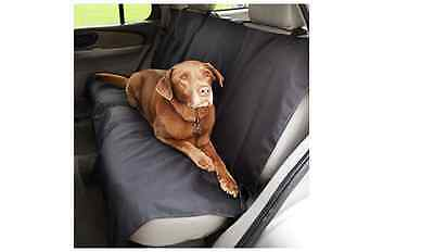 AmazonBasics Waterproof Car Bench Seat Cover for Pets, Black,  119 x 142 cm