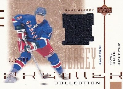 UD Premier Collection 2001 02 Pavel Bure Jersey