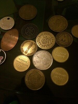 Bargain Coin Token Collection. Global Rare Or Unavailable New Ted Baker/Pirates