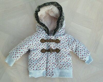girls baby coat jacket age 3-6 months