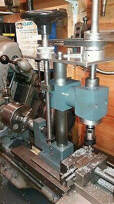 Rodney Type Milling Attachment For A Lathe