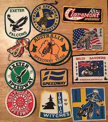 Speedway Sew-on Patches (12)