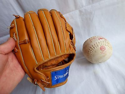 Vintage Signed Leather Spalding Baseball Glove Lloyd Moseby Stadium Series Ball
