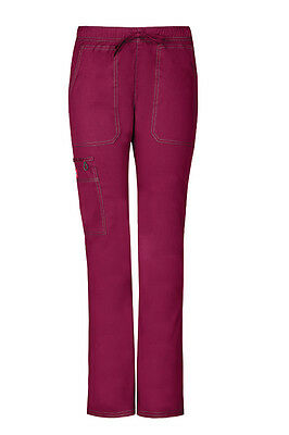 Gen Flex by Dickies Women's Low Rise Straight Leg Scrub Pant Free Shipping