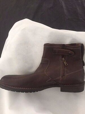 John Varvatos Men's Brown Ankle Boots Size 10 - New NT