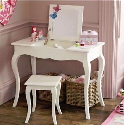 GLTC Girls 'Florence Dressing Table & Stool' - Brand New & Boxed RRP £249