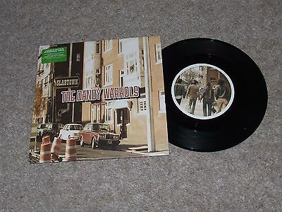 THE DANDY WARHOLS GET OFF = RARE LIMITED EDITION NUMBERED [532] VINYL 7inch