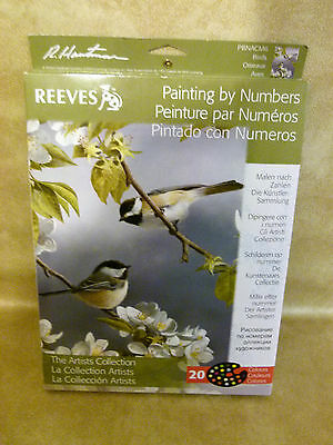 Reeves Paint by Numbers : Birds : The artists collection: 20 colours..