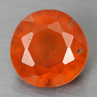 5.020 Cts Amazing Rare Beautiful Orange Red 100% Natural Hessonite Garnet Gem !!