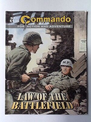 Commando War Comic - Issue No. 4137 - Law Of The Battlefield.
