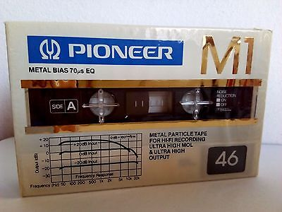 CASSETTE TAPE BLANK SEALED - 1x (one)  PIONEER M1 46  [1981-82]   made in Japan