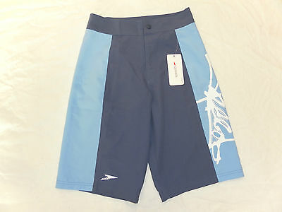 Speedo Graffiti Blue Large Boys Junior Swimshorts BNWT Swimming Swimwear