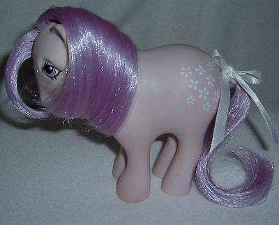 Vintage My Little Pony  Concave foot Blossom (Collector )