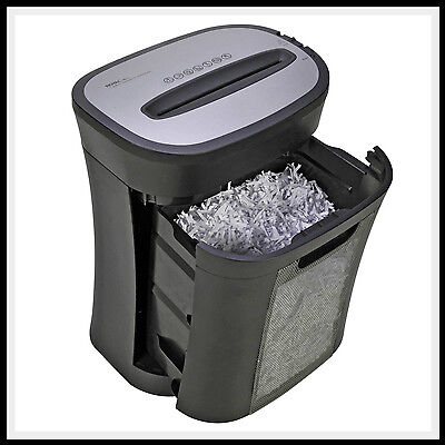 Cross Cut Paper Shredder 12 Sheet Royal Commercial Heavy Duty Credit Card