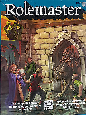 Rolemaster RPG ICE Iron Crown 1987 Box Set