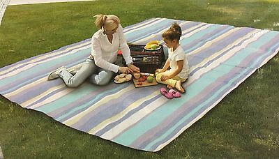 Extra Large Travel Rug Outdoor Beach BBQWaterproof Moistureproof Picnic Camping