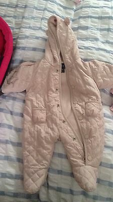 0-3 Months Baby Gap snowsuit/pram suit