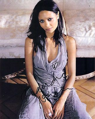 Thandie Newton, Westworld ,Genuine Hand Signed 10x8 Photo Comes With COA