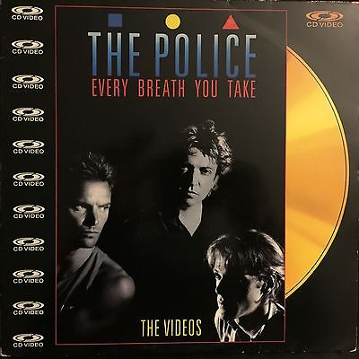 LASERDISC -The Police – Every Breath You Take (The Videos)