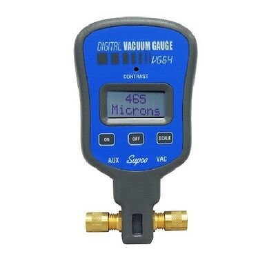 Supco VG64 Dual Port Electronic Vacuum Gauge
