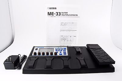 Boss ME-33 Electric Guitar Multi Effects Pedal COSM [Excellent+] From Japan