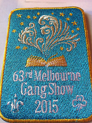 Girl Guides / Scouts Melbourne Gang Show 2015