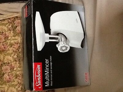 SUNBEAM .Multi Mincer,1500W,Met mincer and sausage maker