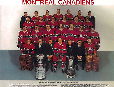 1965-66 Montreal Canadiens Stanley Cup Champions