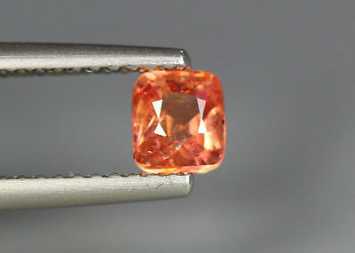 0.54 Cts_Glettering_Loose Stone_100 % Natural Unheated Burmes Orange Pink Spinel