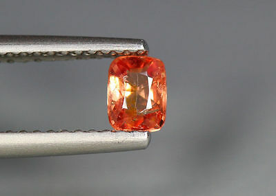 0.39 Cts_Glettering_Loose Stone_100 % Natural Unheated Burmes Orange Pink Spinel