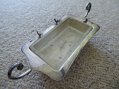 Vintage EPNS Silver Plated Butter Dish