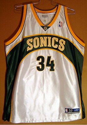 Seattle Supersonics Ray Allen Authentic Nba Jersey