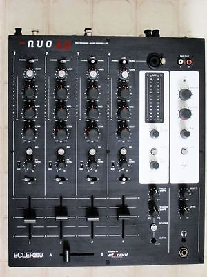 Ecler Nuo40 Nuo 4.0 Professional Audio Controller DJ Mixer 4 channel