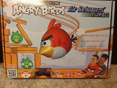 Angry Birds Air Swimmers Turbo  Flying Remote Control Balloon Toy N