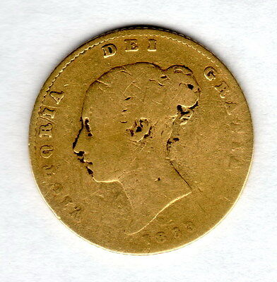 1863 Half Gold Sovereign Great Gift