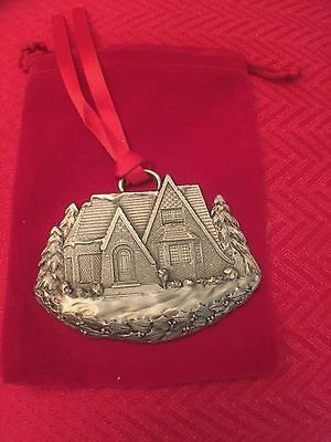 Mgic 2006 Pewter House Christmas Ornament By A. Schumann