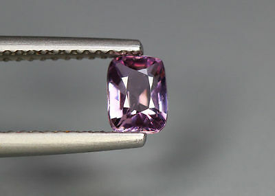 0.71 Cts_Glettering_Loose Gem_100% Natural Unheated Burmesh Purplish Pink Spinel