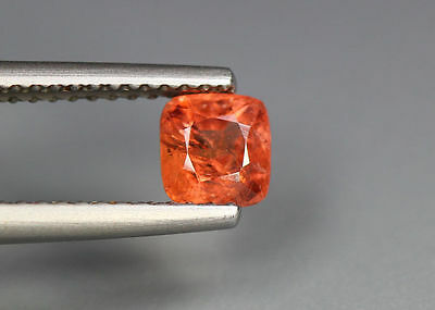 0.69 Cts_Glettering_Loose Gemstone_100 % Natural Unheated Burmesh Orange Spinel