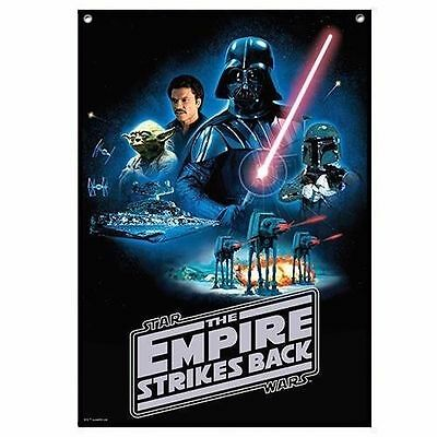 Disney Star Wars Empire Stikes Back Characters Wall Cape Flag 100 X 70Cm