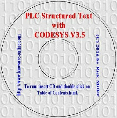 PLC Structured Text with CODESYS V3.5 (Simulation PLC, HMI, Visualization)