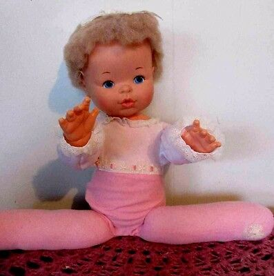 Vintage Ideal Doll Thumblina 1976 For Parts Or Repairs