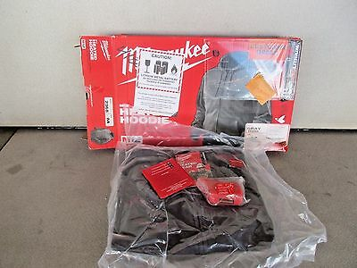Milwaukee 2368-M MEDIUM M12 Cordless Lithium-Ion Heated HOODIE ONLY NO BATTERY