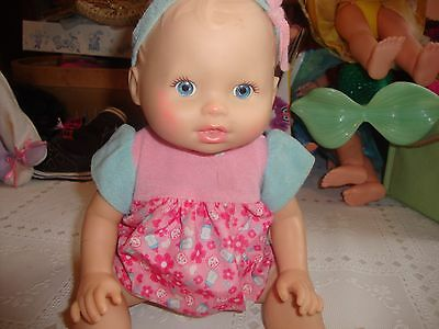 Fisher Price Little Mommy Wipey Dipey doll...RARE...14.99
